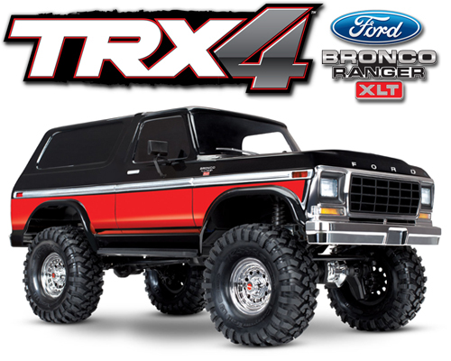 Traxxas TRX-4 Scale Crawer Ford Bronco RTR - 82046-4R
